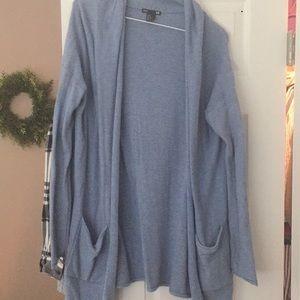 H&M blue cardigan